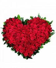 bouquet-heart-of-101-rosesbarcelona